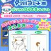 【LINE懸賞】タマ川ヨシ子グッズ 第25弾 オリジナルはらまきプレゼント