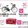 電動アシスト自転車・ダイソン・ヘルシオが当たる!大人満足 春の新生活にGood!キャンペーン|ニチレイ