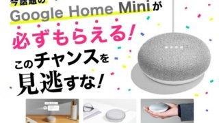Google Home Miniがもれなく貰えるプレゼントキャンペーン|東京電力TEPCO